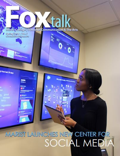 Foxtalk Magazine cover Spring 2018 Issue