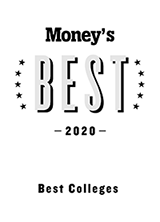 Money's Colleges 2020 logo