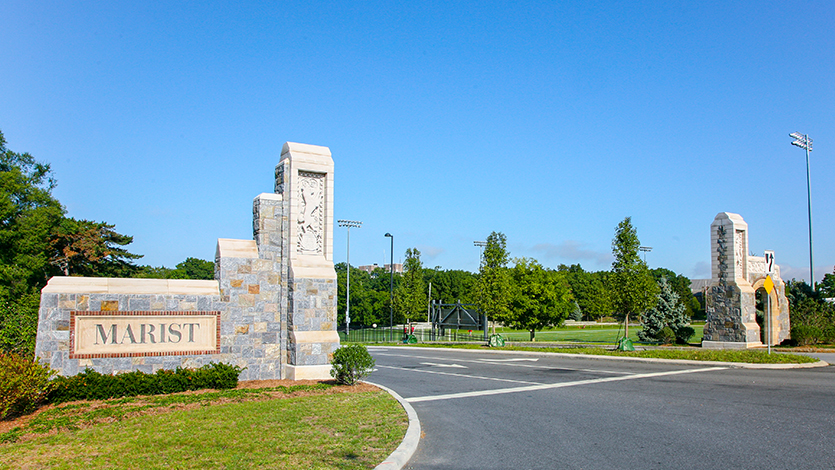 Image of Marist College's South Gate