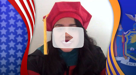 Daleska Cassiani, Excellence in Graduate Studies -The 75th Commencement Exercises of Marist College