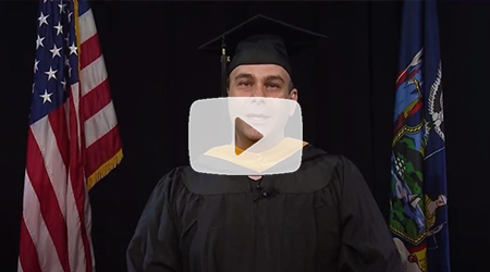 Jason Collishaw, Academic Distinction Award - The 75th Commencement Exercises of Marist College