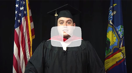 Ryan Stevens, 2021 Class Valedictorian - The 75th Commencement Exercises of Marist College