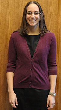 Image of Assistant Director of First Year Programs, Melissa Lulay