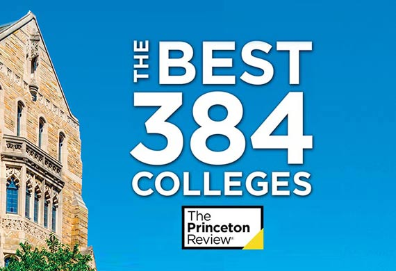 Photo of Princeton Review Rankings Cover