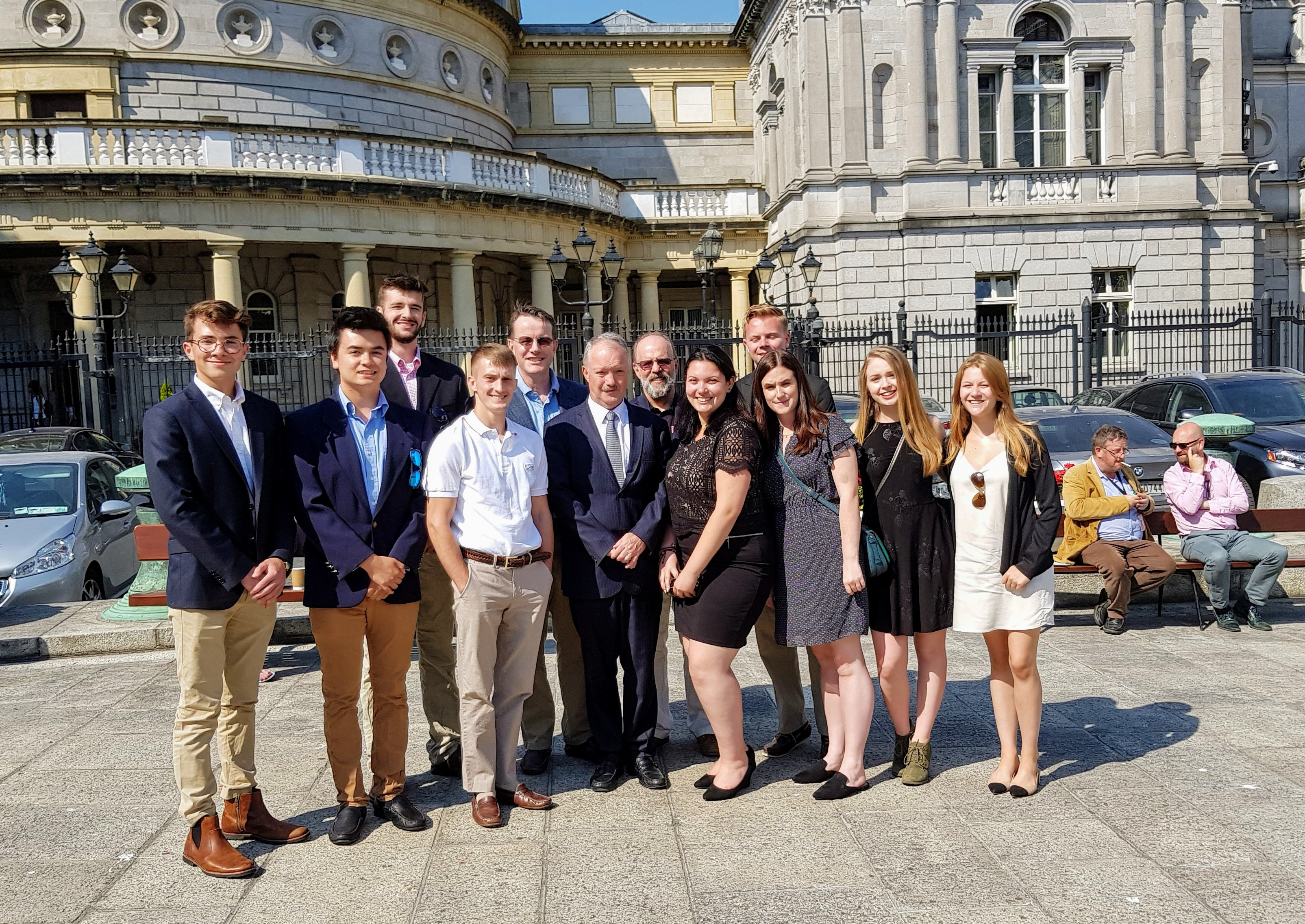 Photo of Management Students in Ireland
