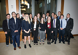 Students at Northeast Regional Ethics Bowl