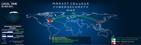 Marist College Cybersecurity Map