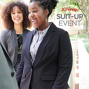 Photo of JCPenney Suit-Up Event Flyer