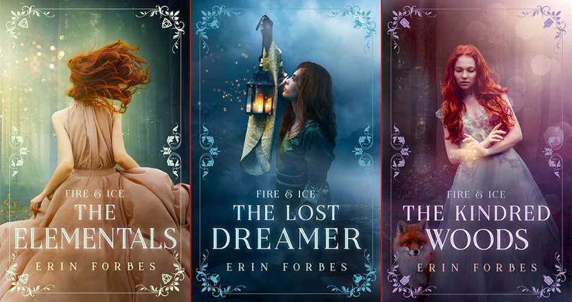 Erin Forbes fantasy series book covers