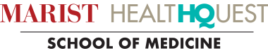 Marist College and HealthQuest School of Medicine logo